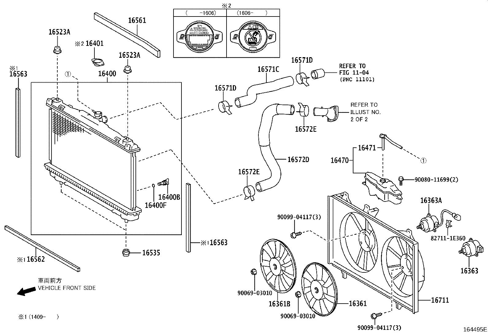 engine cooling system diagram 2013 toyota camry engine cooling system diagram #11
