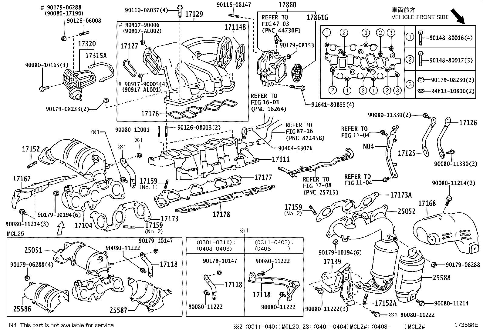 30 2006 Toyota Sienna Parts Diagram