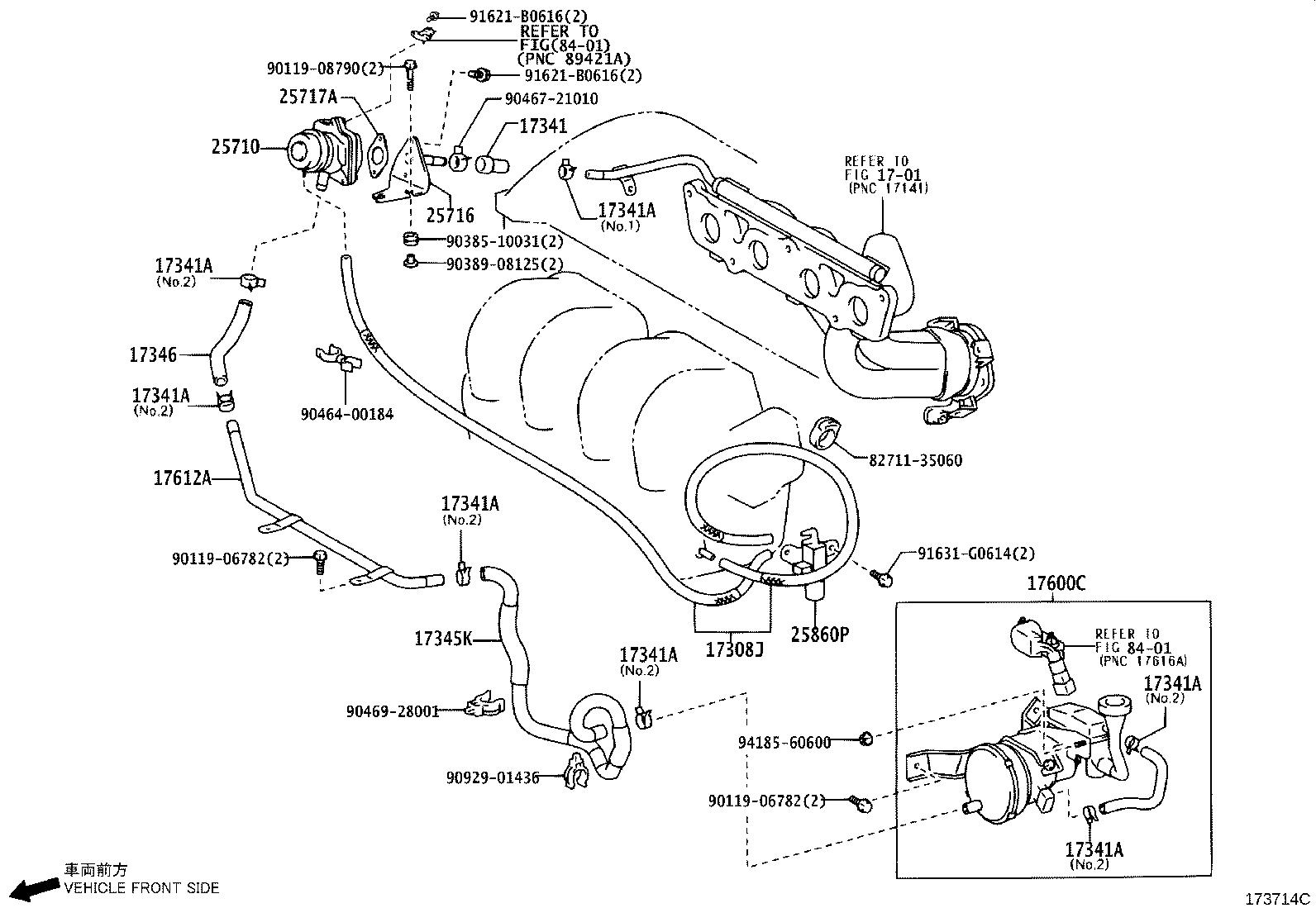 33 2004 Toyota Corolla Parts Diagram