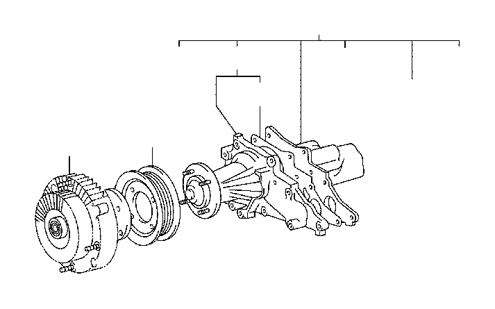 toyota supra pulley  fan  engine