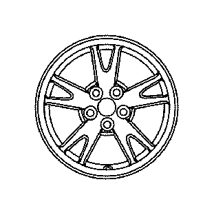 Toyota Collar Partnumber 9038921003: Toyota Prius Wheel. May, DISC, TIRE - 4261120A50