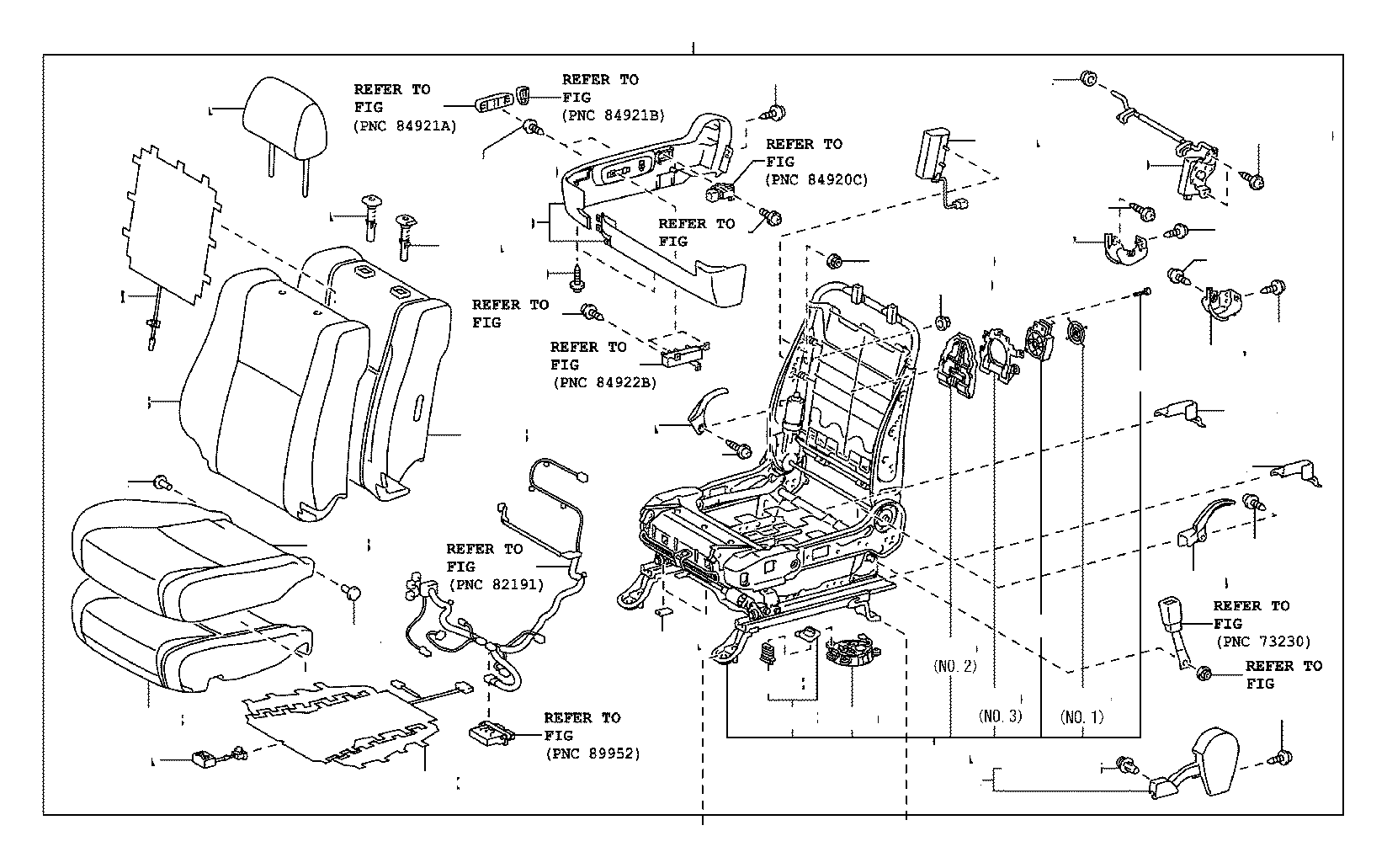 2015 toyota tundra adjuster assembly  lumbar support