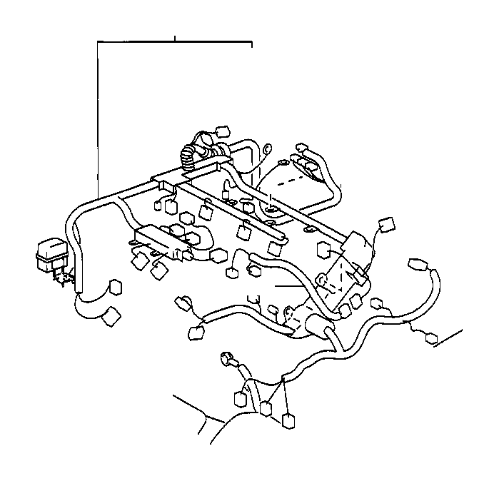 2001 toyota sienna wire  engine  wiring  electrical