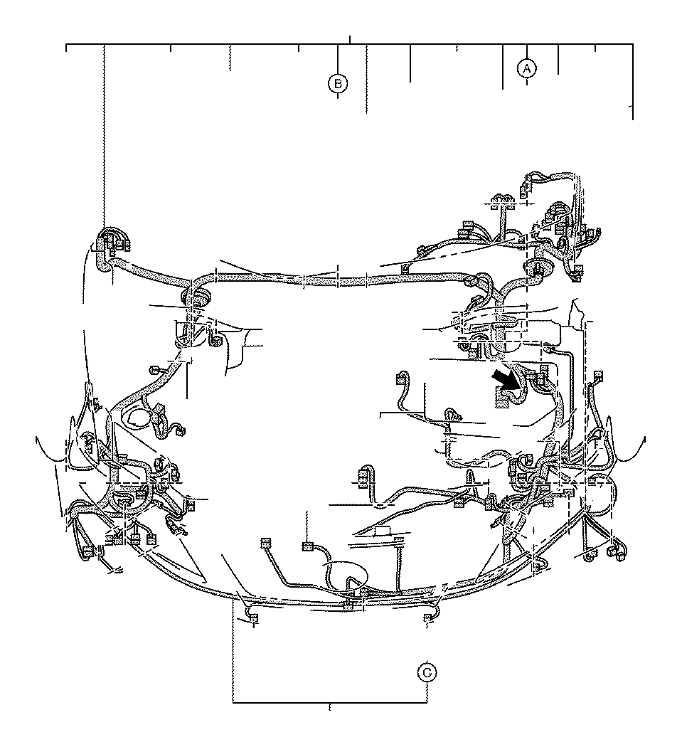 2008 toyota avalon connector  wiring harness