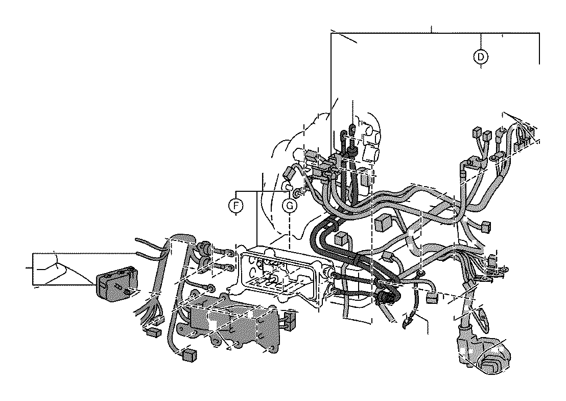 2014 toyota rav4 wire  earth  no  2  electrical  wiring